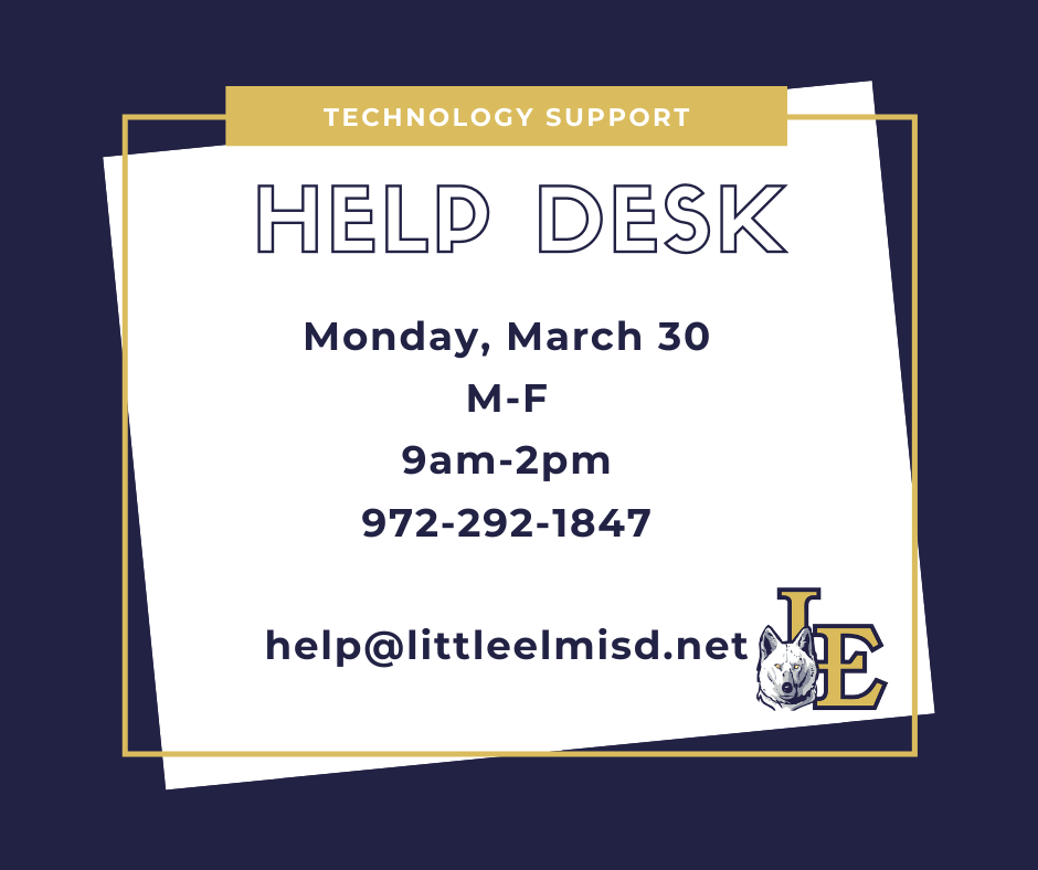 Technology Support Help Desk