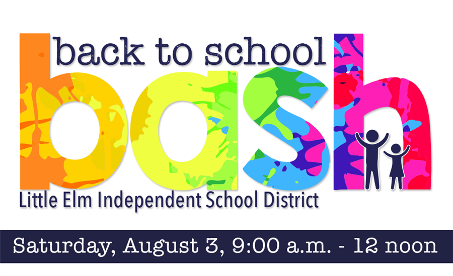 Back to School Bash - Saturday, August 3 9-12 noon