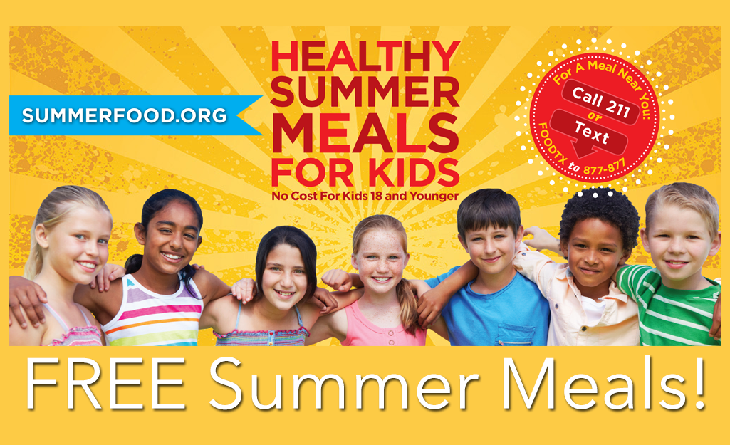 Healthy (Free) Summer Meals for Kids