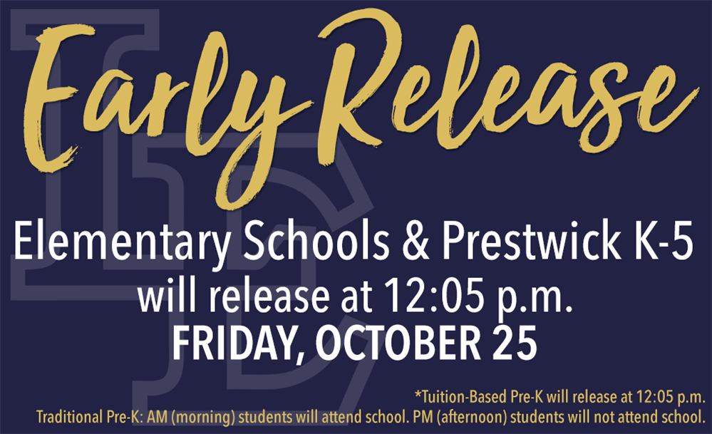 Early Release October 25