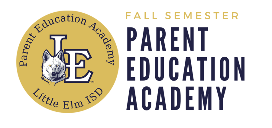 Parent Education Academy Fall Semester