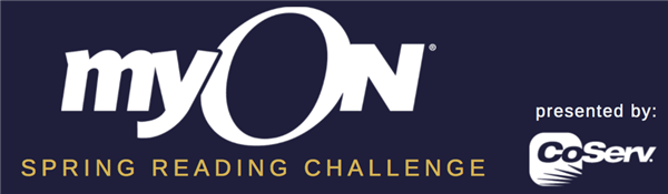 myON Spring Reading Challenge presented by CoServ