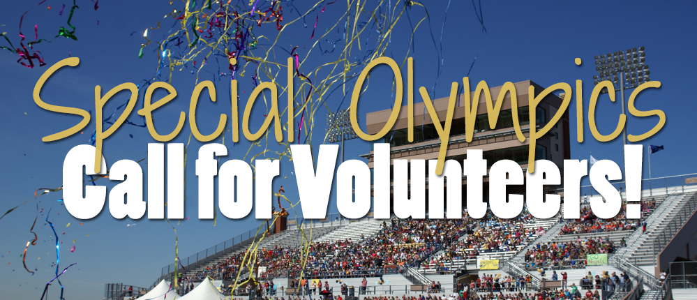 Special Olympics Call for Volunteers