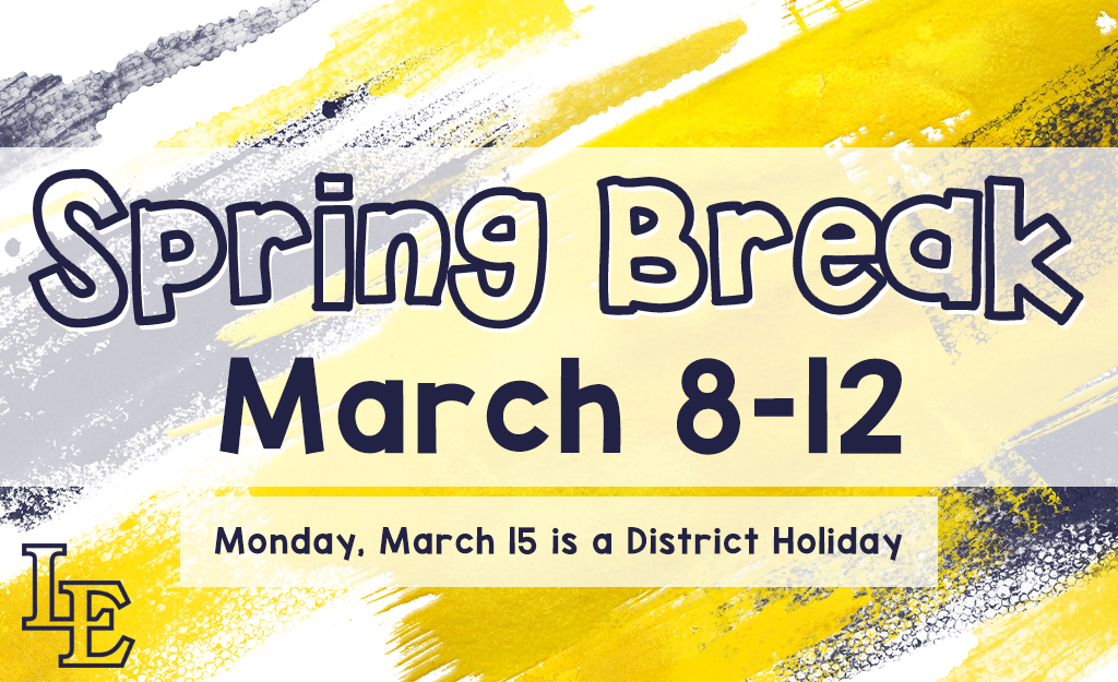 District Closed for Spring Break