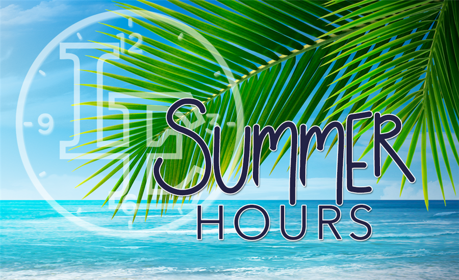 Summer Building Hours