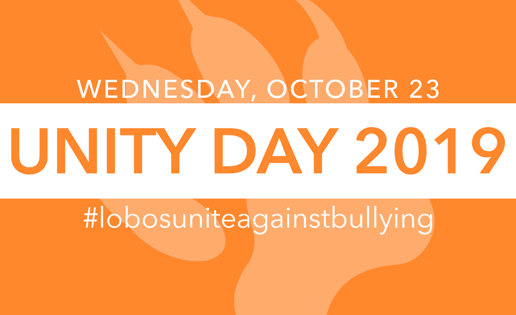 Wear Orange for Unity Day 2019!