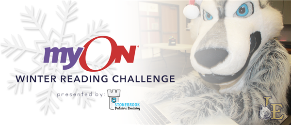 myON Winter Reading Challenge Presented by Stonebrook Pediatric Dentistry