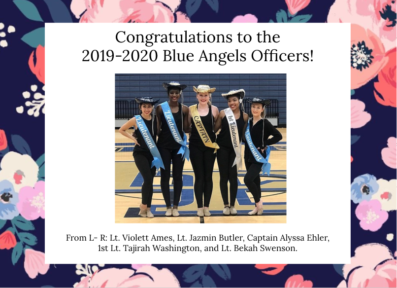 2019-2020 New Officers