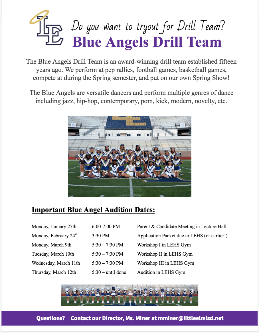 20-21 Blue Angels Tryouts
