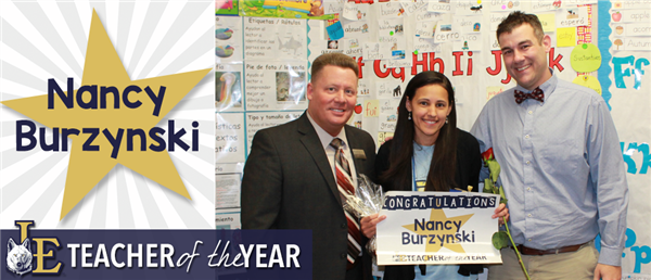 Nancy Bursynski - Teacher of the Year