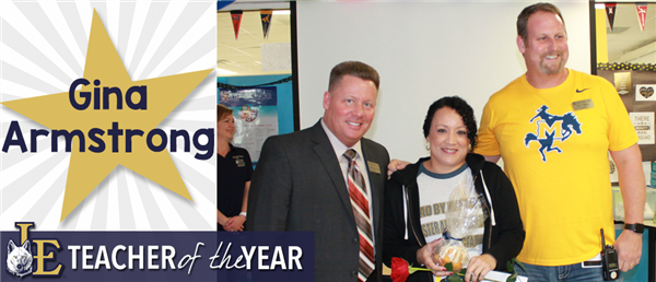 Gina Armstrong - Teacher of the Year
