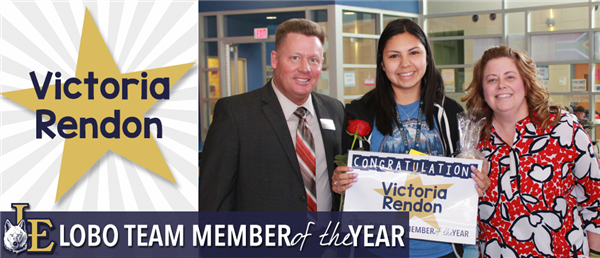 Victoria Rendon - Lobo Team Member of the Year