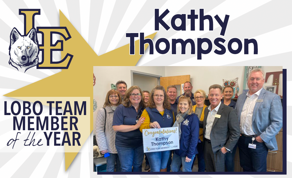 Lobo Team Member of the Year - Kathy Thompson