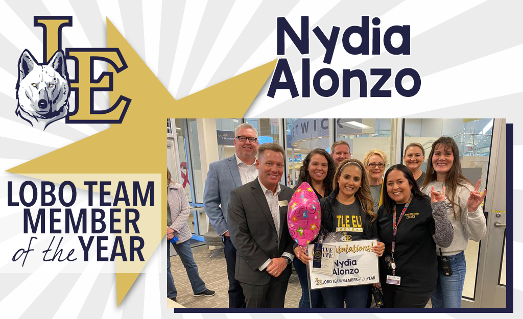 Lobo Team Member of the Year - Nydia Alonzo
