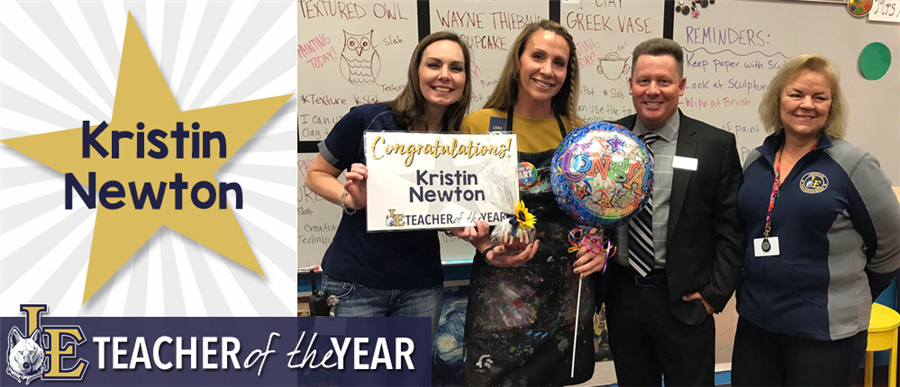 Kristin Newton - Elementary Teacher of the Year