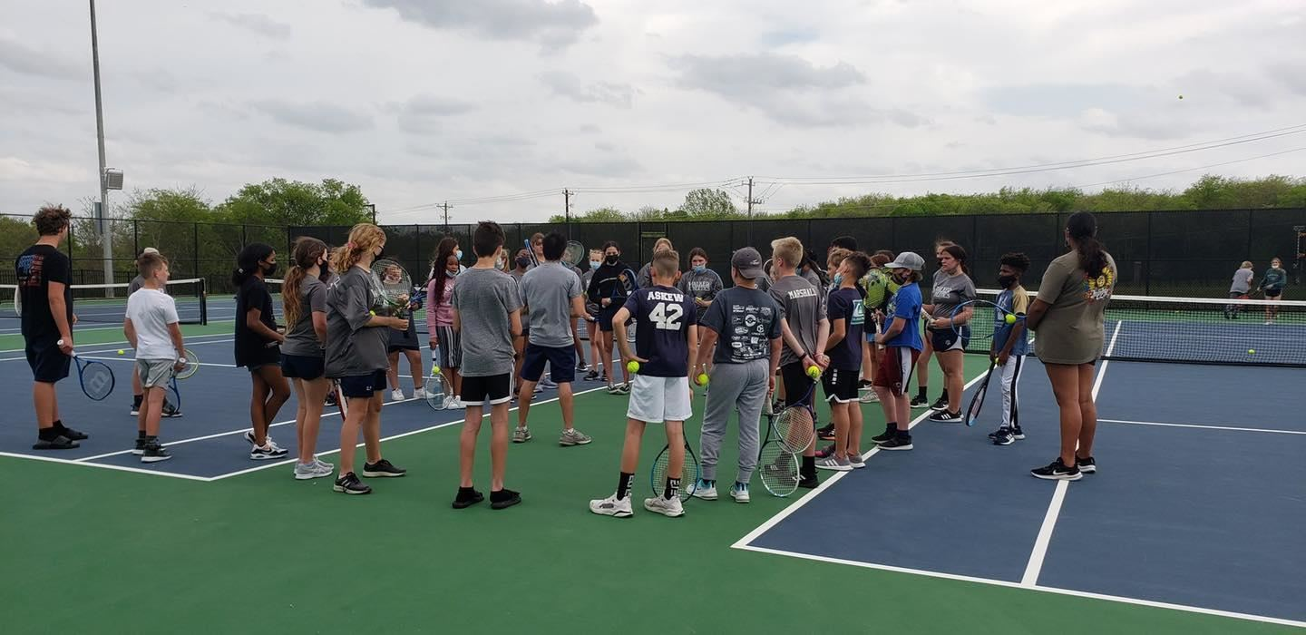 Varsity Tennis at Walker MS