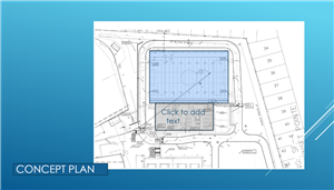 Concept plan of indoor facility