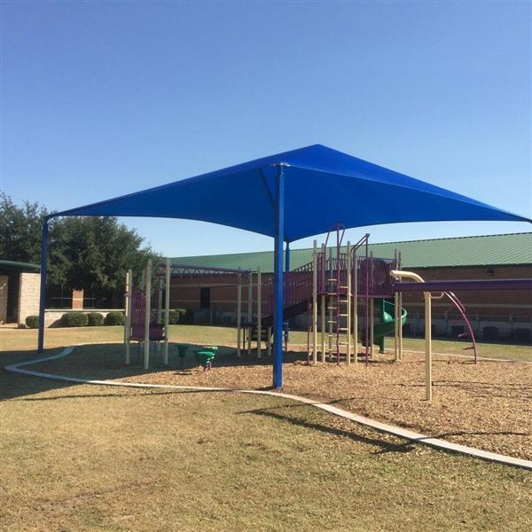 New Shade Covers on Elementary Playgrounds!